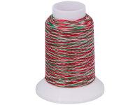 baby lock Bauschgarn rot-weiß-grün, 1000m